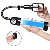 Bomba Vacio Pene Manual se utiliza para Agrandar el Pene Bombas para el Pene Efectivo de Pene y Potenz de Entrenamiento con Escala Marcos